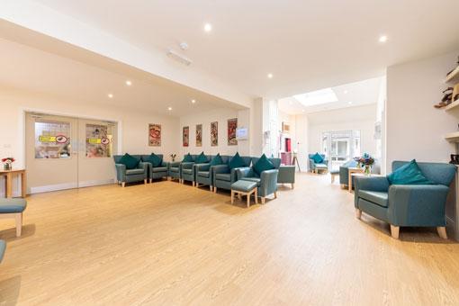 Sweetcroft Care Home Lounge