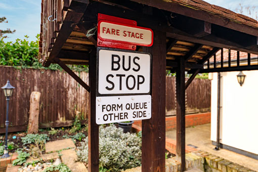 Sweetcroft Care Home Bus Stop