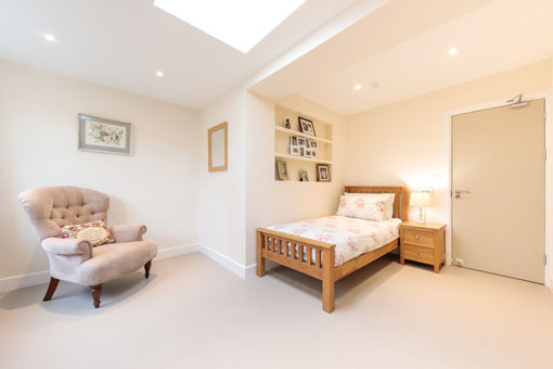 Sweetcroft Care Home Bedroom