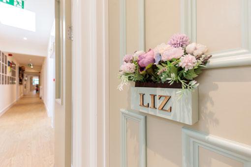 Sweetcroft Care Home Bedroom Door