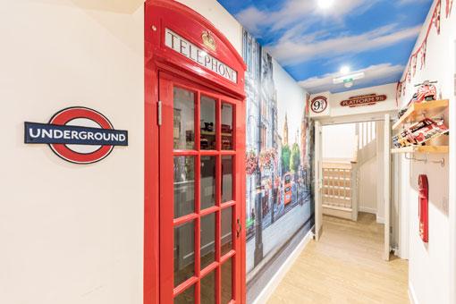 Sweetcroft Care Home London Corridor