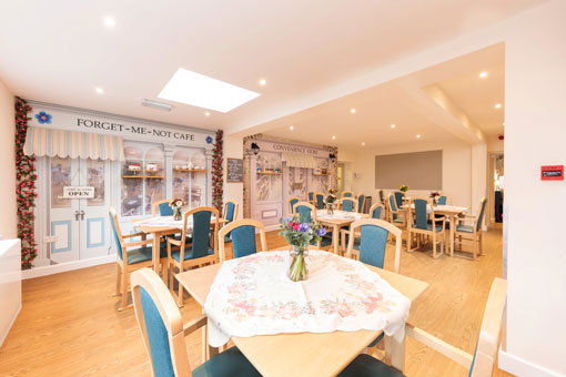 Sweetcroft Care Home Dining Room