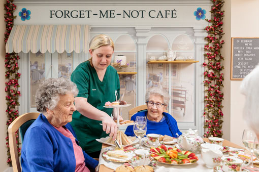 Sweetcroft Care Home Afternoon Tea