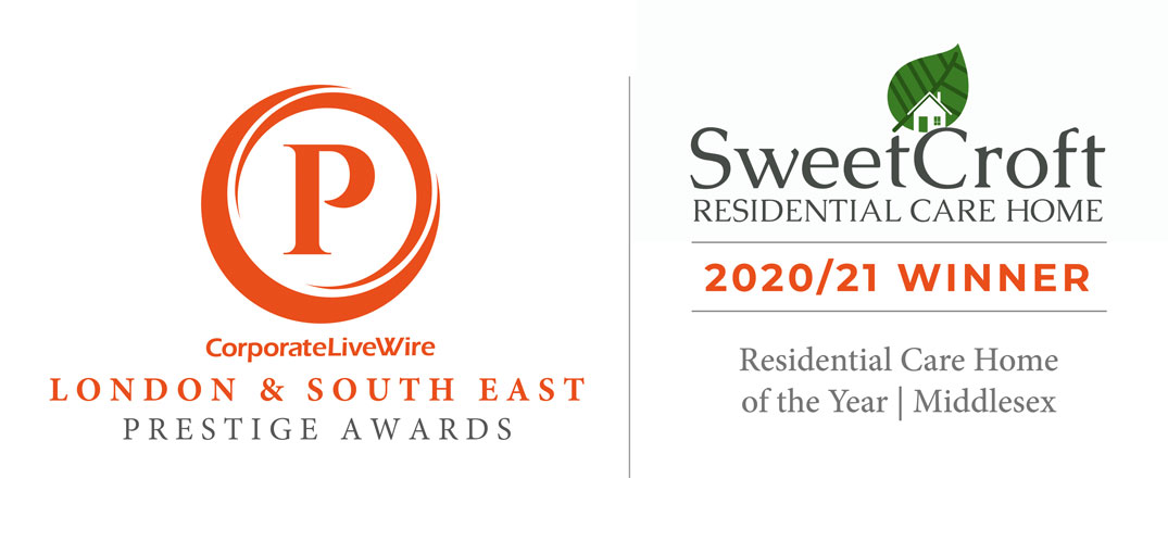 Sweetcroft Care Home Winner of Prsige Award for Best Care Home in Middlesex